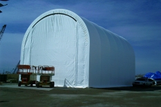View of Completed Fabric Structure